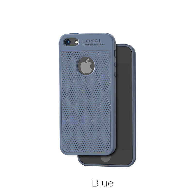 ip 5 5s admire case blue