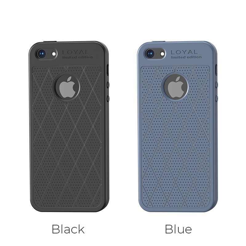 hoco admire series protective case for iphone se 5s 5 colors
