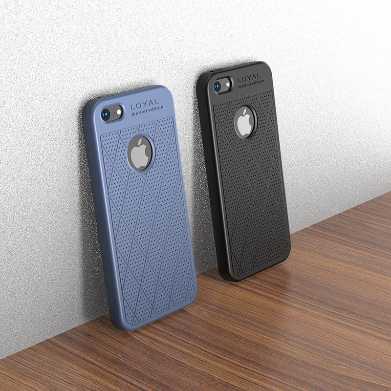 hoco admire series protective case for iphone se 5s 5 logo