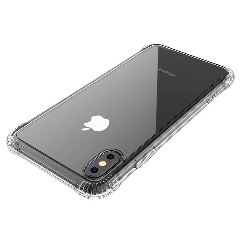 hoco armor series shatterproof soft case iphone 5.8 6.1 6.5 lens