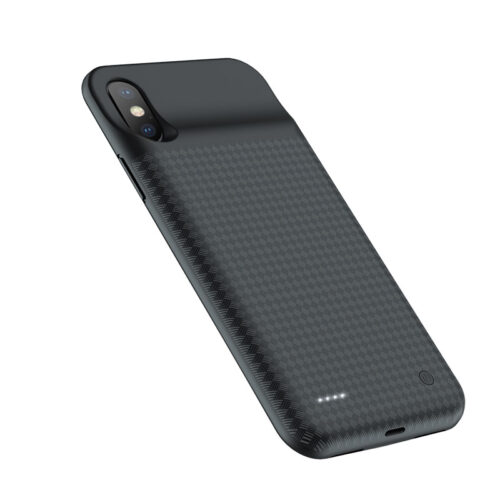 hoco bw6b wayfarer 3500 mah power bank case for iphone x backside