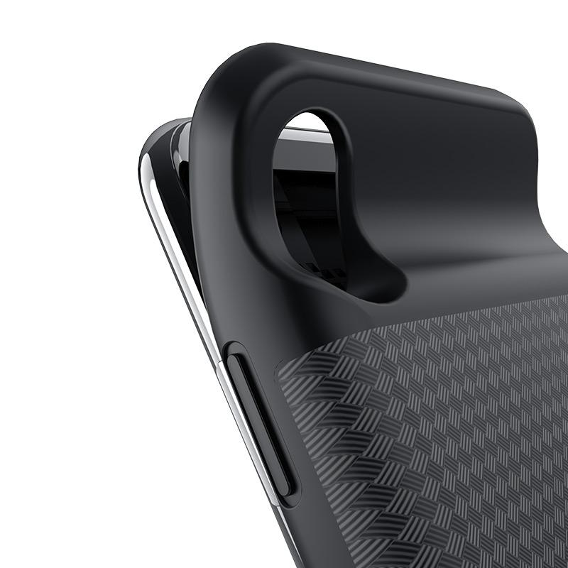 hoco bw6b wayfarer 3500 mah power bank case for iphone x flexible