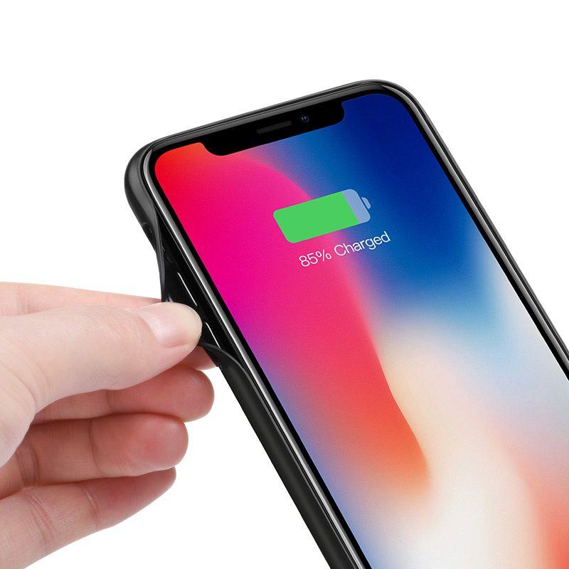 hoco bw6b wayfarer 3500 mah power bank case for iphone x frames