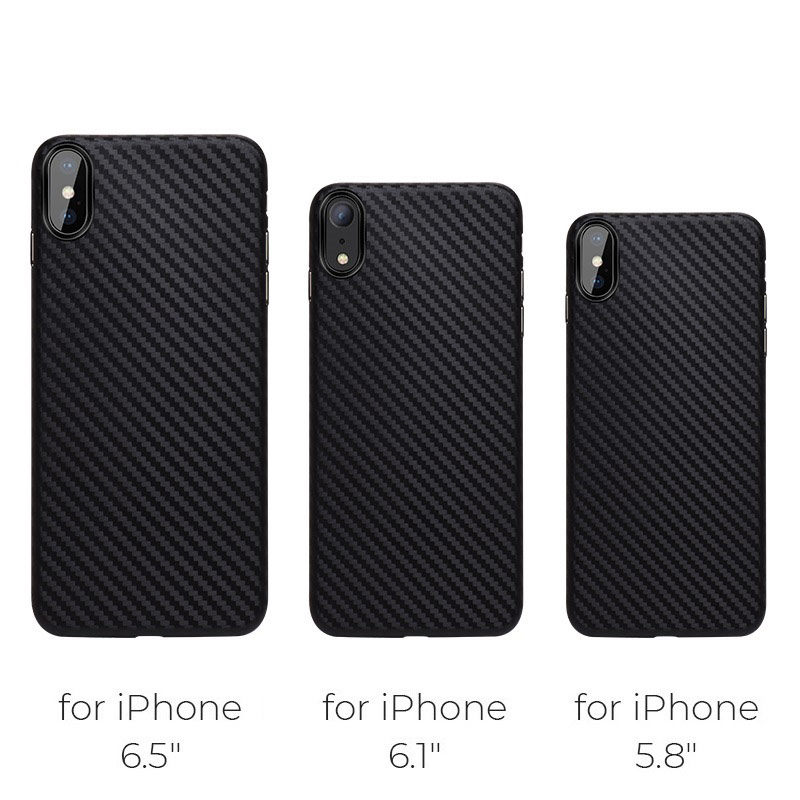 hoco delicate shadow series protective case for iphone 5.8 6.1 6.5 sizes
