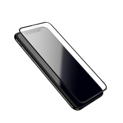 hoco fast attach 3d full screen hd a8 tempered glass for iphone 5.8 6.1 6.5 edges