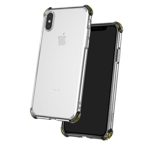 hoco ice shield series мягкий tpu защитный чехол для iphone xs xr xs max