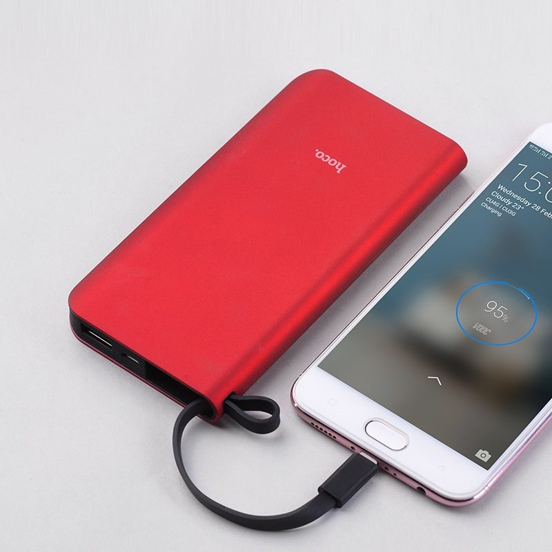 hoco j25a new power mobile power bank micro usb battery