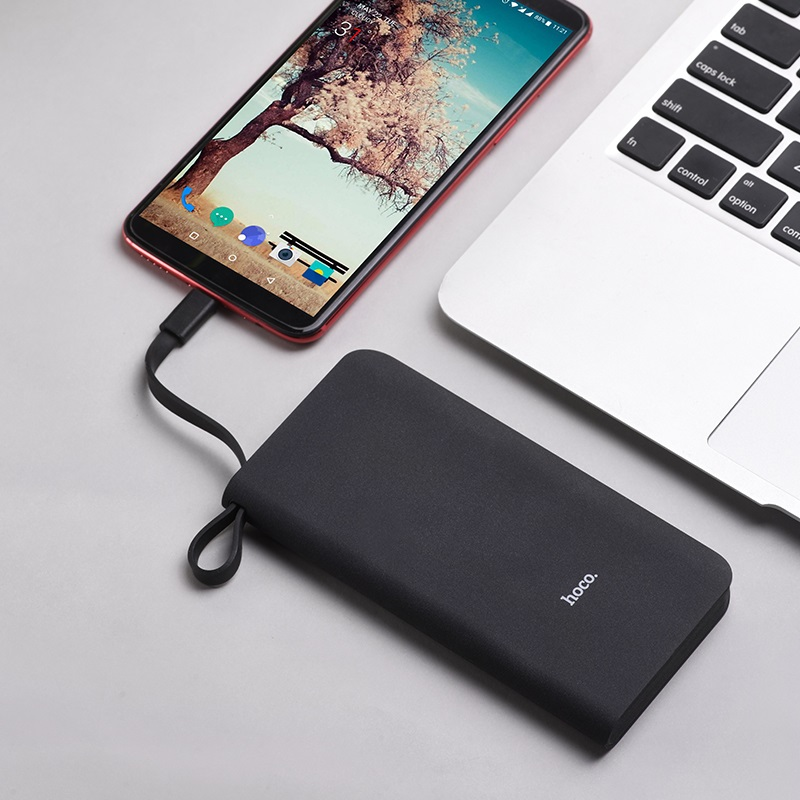 hoco j25b new power mobile power bank type c charger