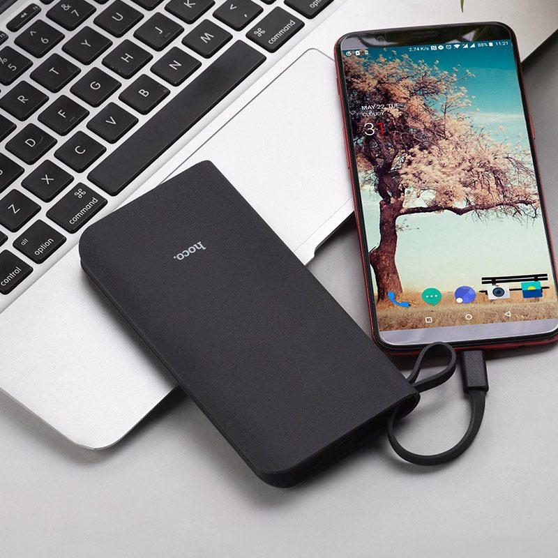 hoco j25b new power mobile power bank type c phone