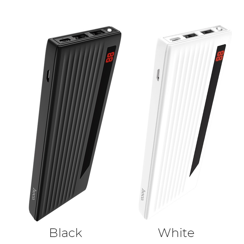 hoco j27 power treasure 10000 mah mobile power bank colors