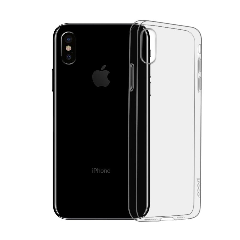 hoco light series tpu защитный чехол для iphone xs xr xs max
