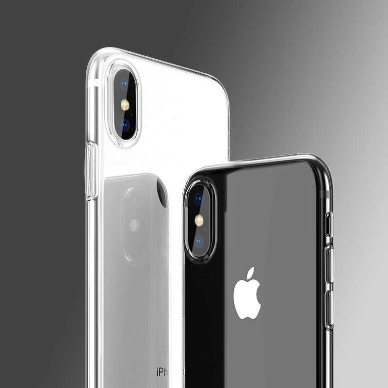 hoco light series tpu защитный чехол для iphone xs xr xs max камера