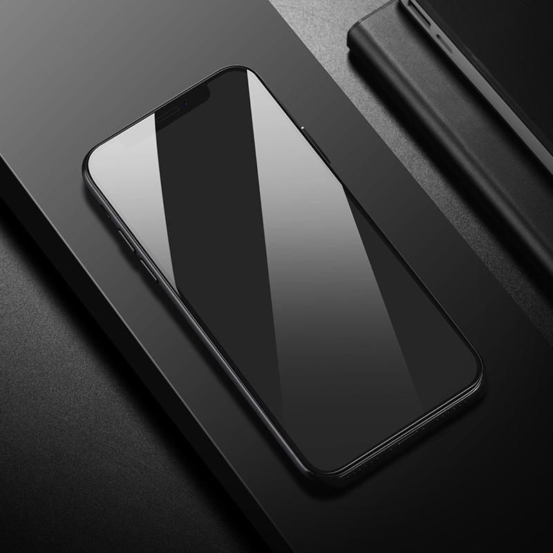 浩酷 防碎边全屏高清钢化膜 a1 iphone 5.8 6.1 6.5 商业