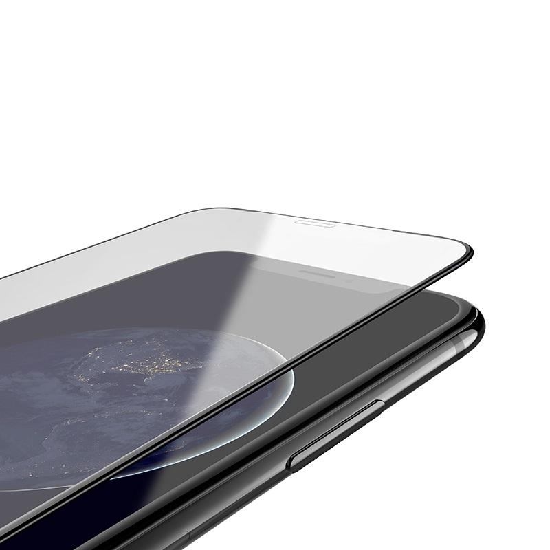 浩酷 防碎边全屏高清钢化膜 a1 iphone 5.8 6.1 6.5 防碎边