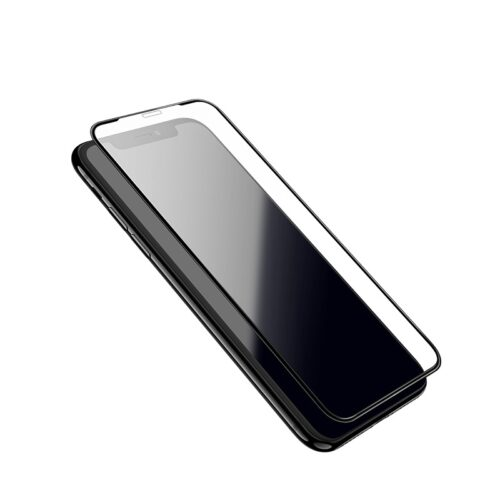 hoco shatterproof edges full screen hd glass a1 for iphone 5.8 6.1 6.5 frames