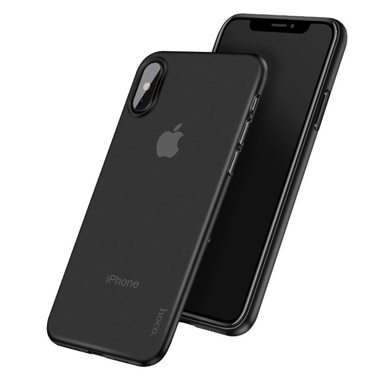 hoco thin series матовый чехол для iphone x / xs / xr / xs max