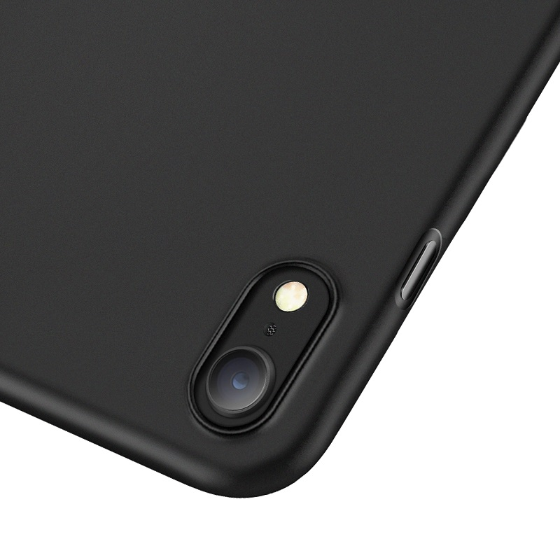 hoco thin series frosted case for iphone 6.5 6.1 5.8 camera