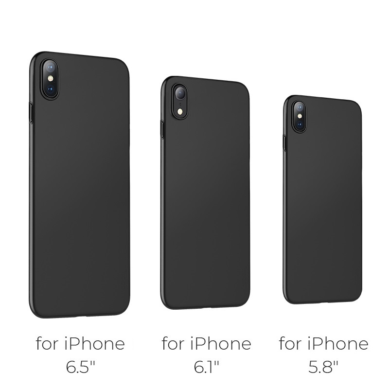 hoco thin series frosted case for iphone 6.5 6.1 5.8 sizes
