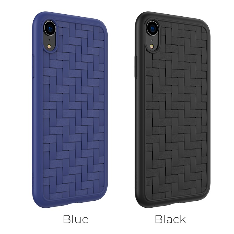 hoco tracery series tpu soft protective case iphone 5.8 6.1 6.5 colors