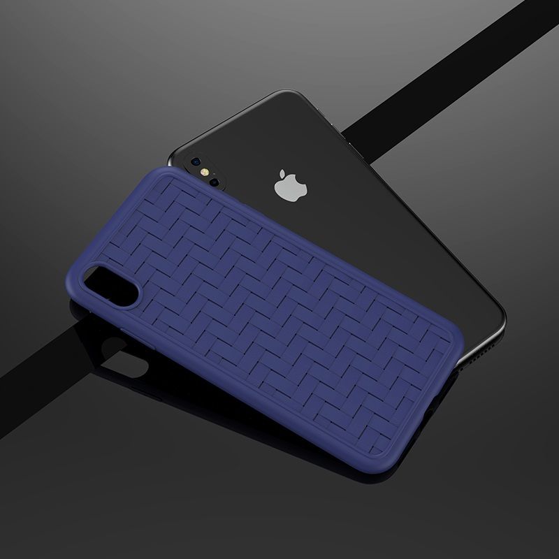hoco tracery series tpu soft protective case iphone 5.8 6.1 6.5 logo