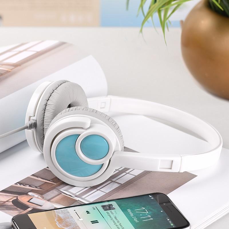 hoco w17 delightful headphones student