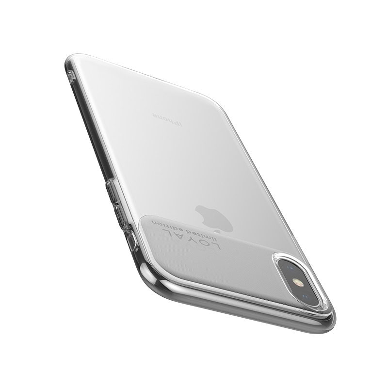 浩酷 水韵系列 TPU 适用型号iphone xs xr xs max 底部