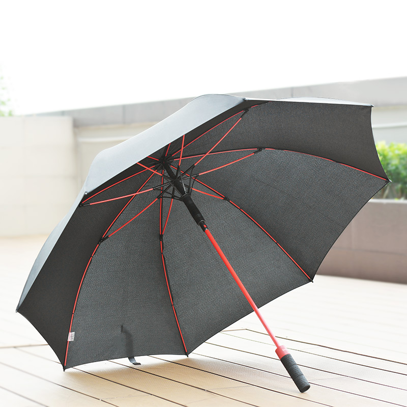 hopeng straight golf umbrella interior