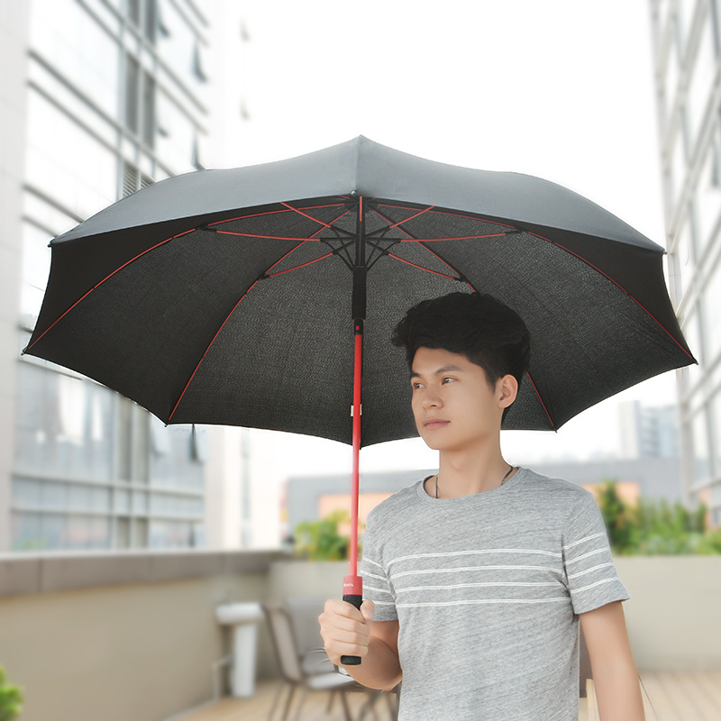 hopeng straight golf umbrella usage
