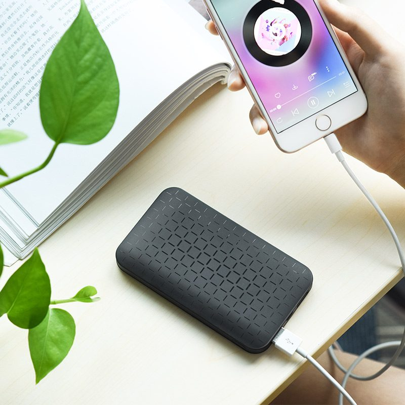 j29 cool square 5000 mobile power bank overview