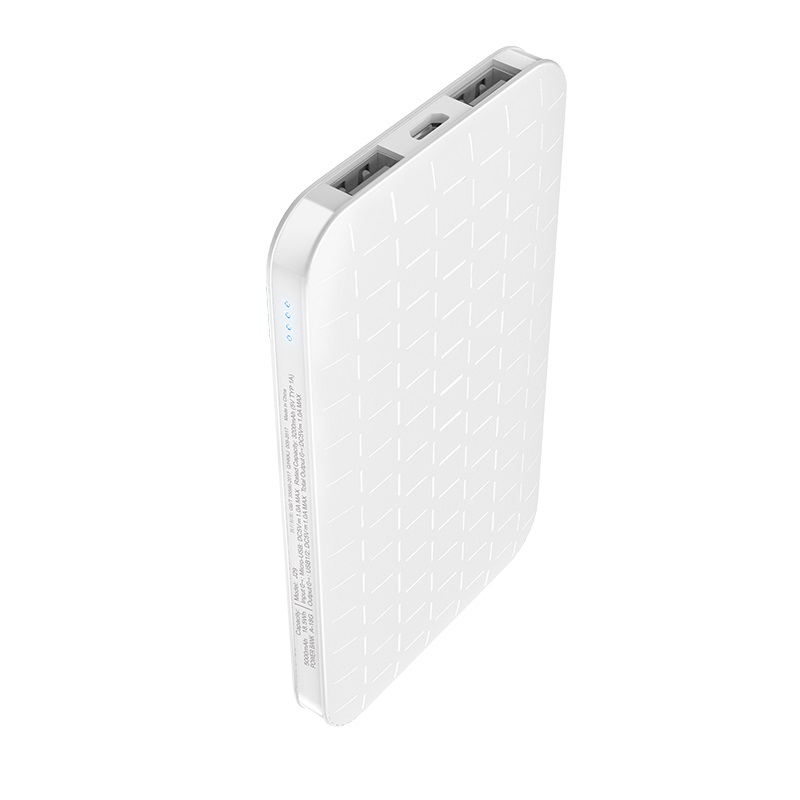 j29 cool square 5000 mobile power bank pattern