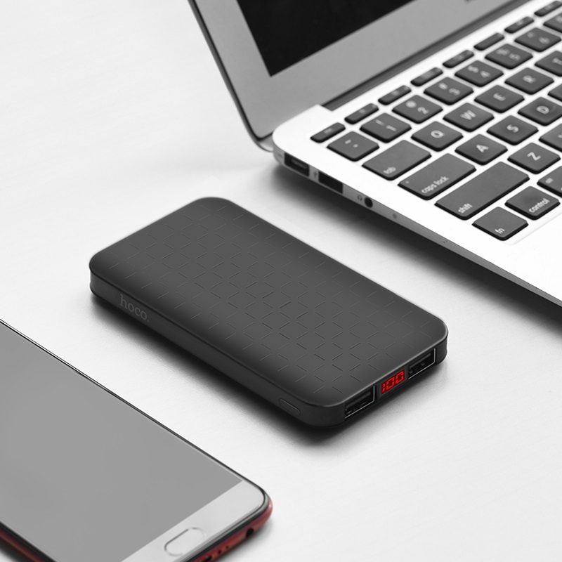 j29a cool square 10000 mobile power bank travel