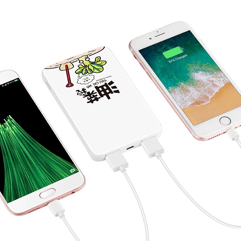 j30 cool paint 10000 mobile power bank charging