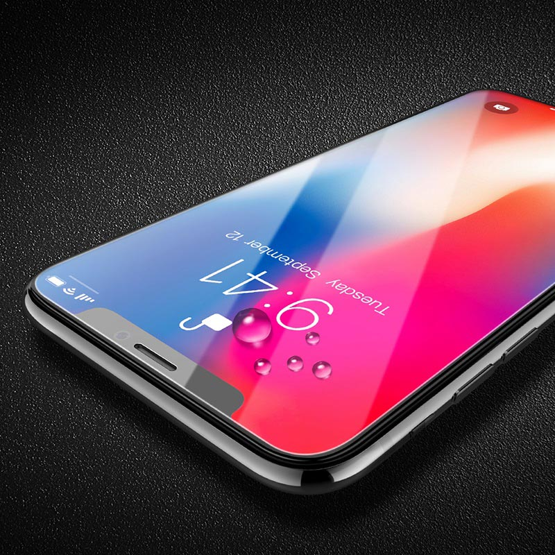 large arc full screen hd tempered glass a10 iphone x drops