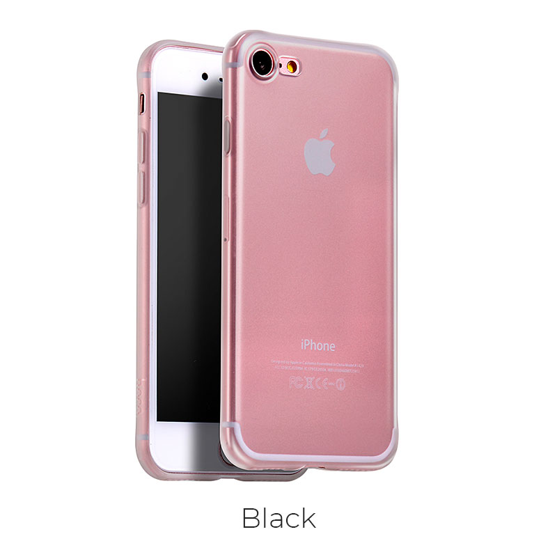 ip 7 8 light frosted tpu black