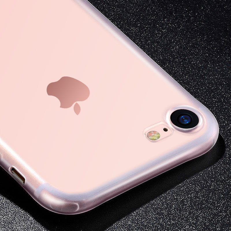 light series frosted tpu protective case iphone 7 8 plus interior camera
