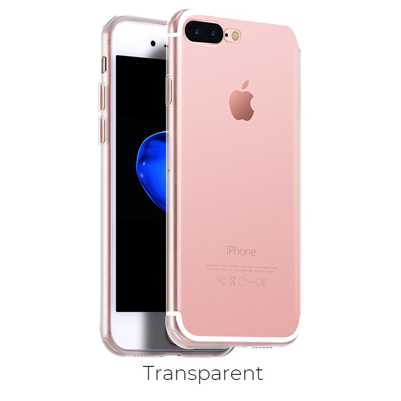 ip 7 8 plus light frosted tpu transparent