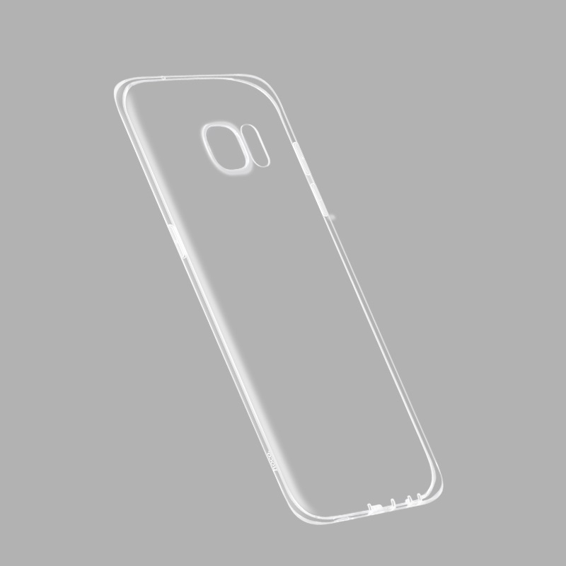 light series tpu case for samsung s7 edge clear