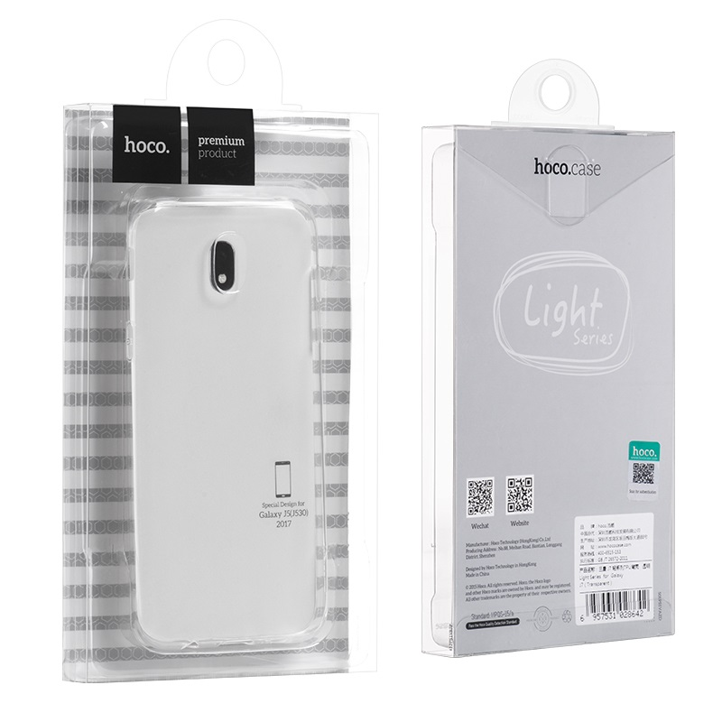 light series tpu protective case galaxy j5 package