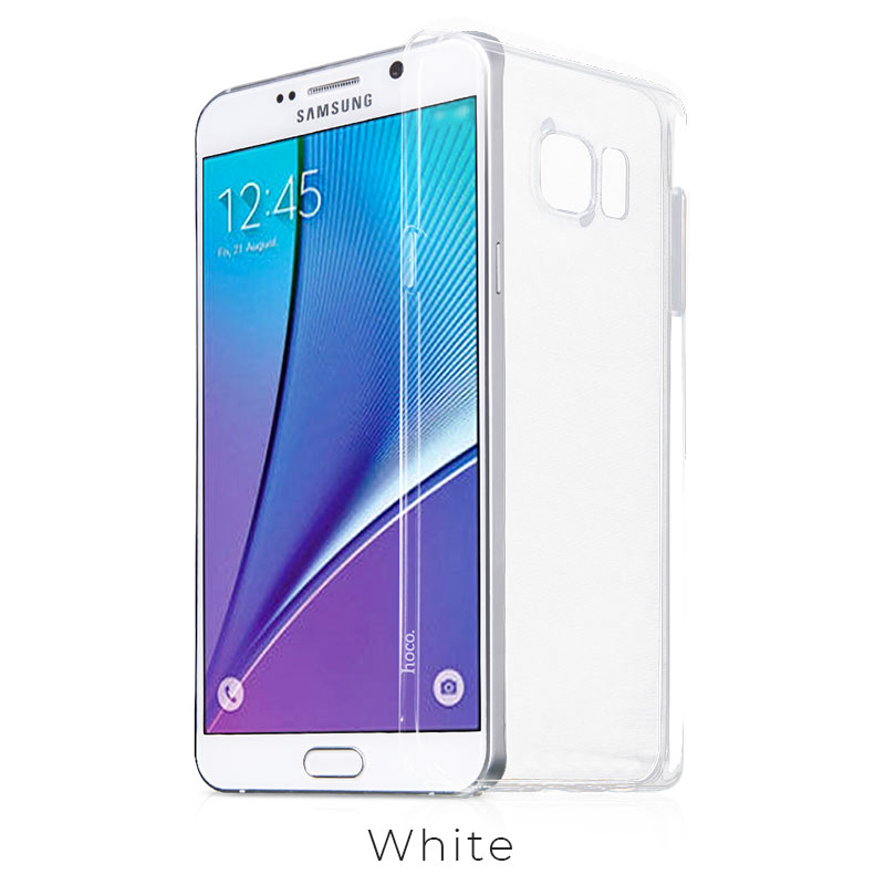 galaxy note 5 light tpu case transparent