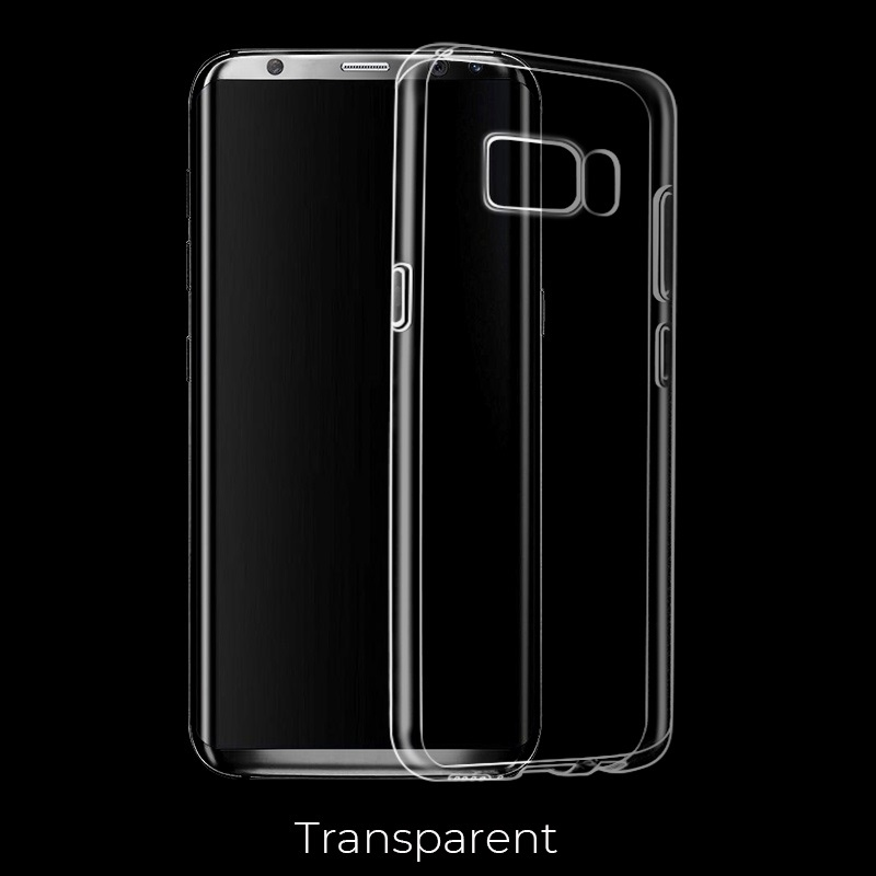 galaxy s8 s8 plus light tpu case transparent