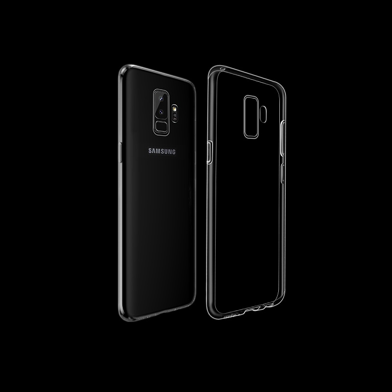 light series tpu protective case galaxy s9 plus clear