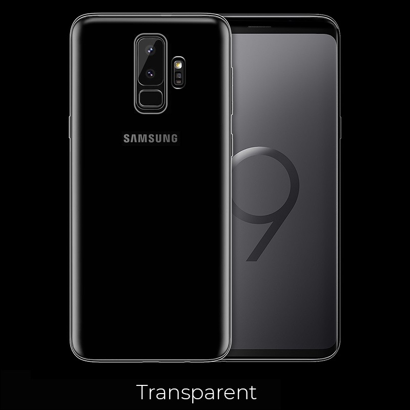 galaxy s9 plus light tpu case transparent