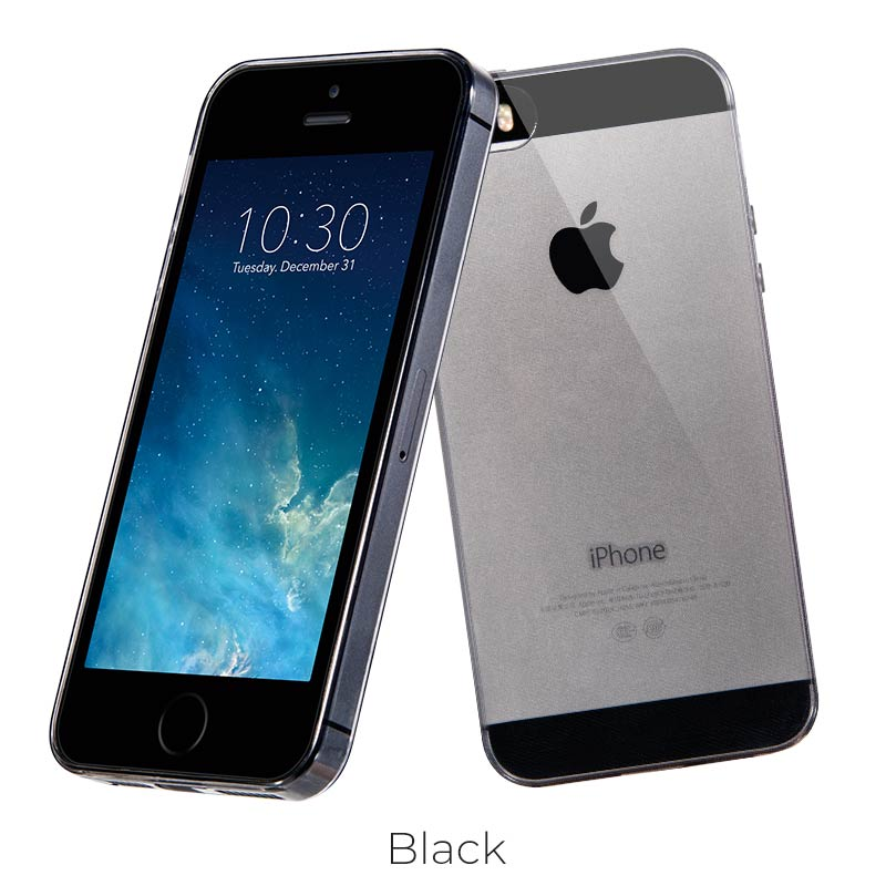 ip 5 5s light tpu black