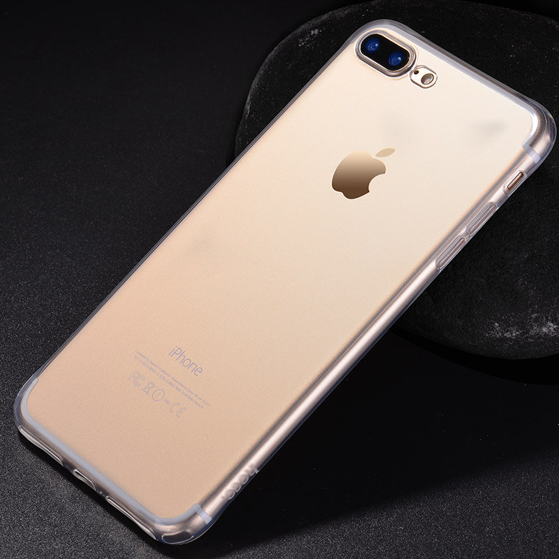 light series tpu protective case iphone 7 8 plus golden phone