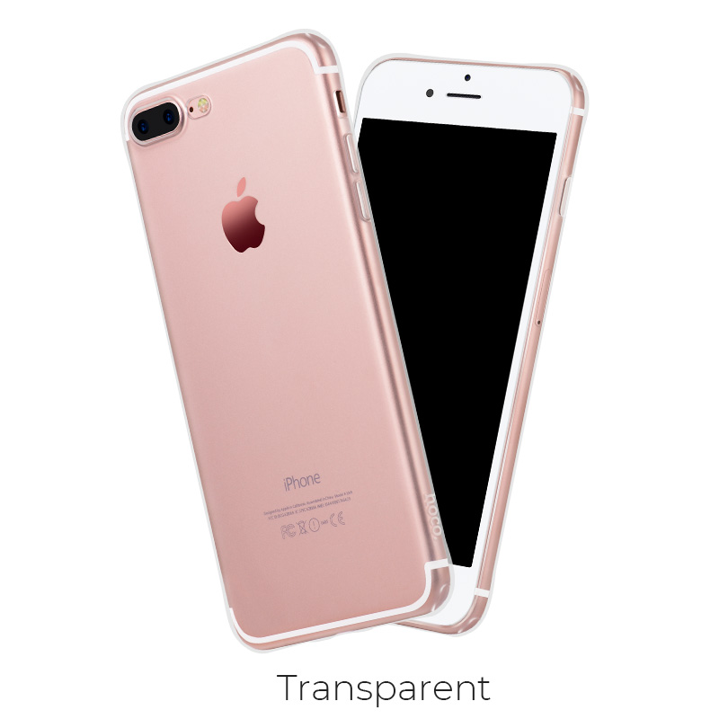 ip 7 8 plus light tpu transparent