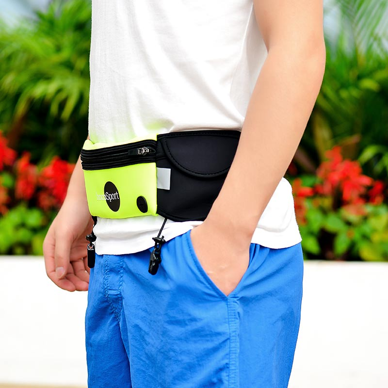 multifunction movement belt bag front