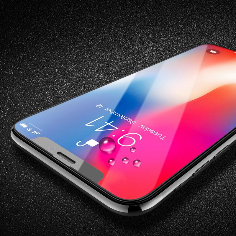 nano 3d full screen edges protection tempered glass a12 for iphone x drops
