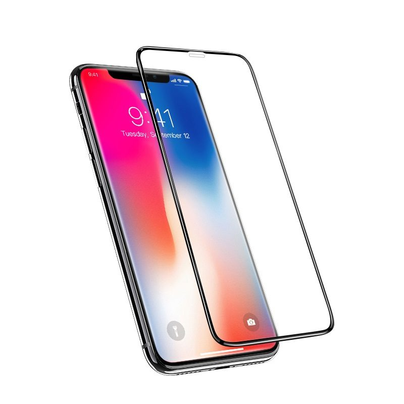 nano 3d full screen edges protection tempered glass a12 for iphone x transparency