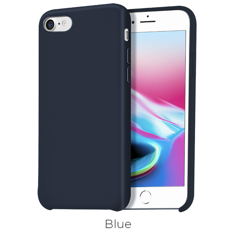 ip 7 8 pure case blue