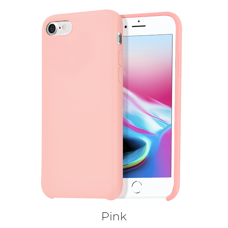 ip 7 8 pure case pink